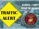 Traffic Alert Marine Corps Base Quantico